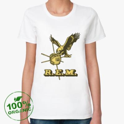 Женская футболка из органик-хлопка R.E.M.