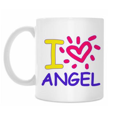 Кружка Supernatural - I love Angel