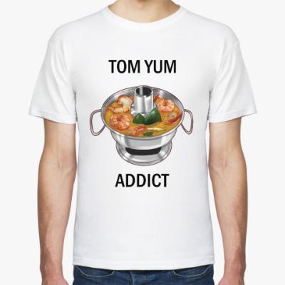 Футболка Суп Том ям - самый острый символ Таиланда!