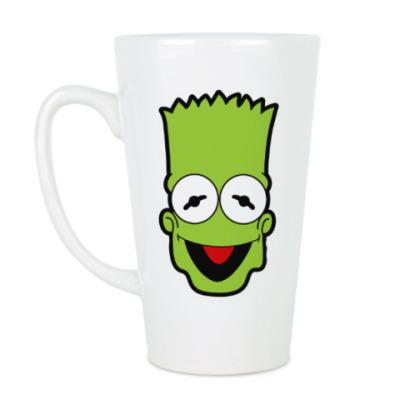 Чашка Латте Барт - Кермит