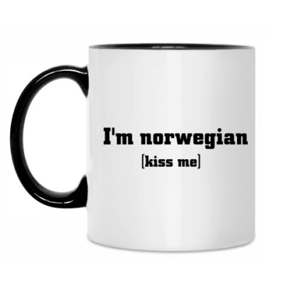 Кружка 'I'm norwegian'