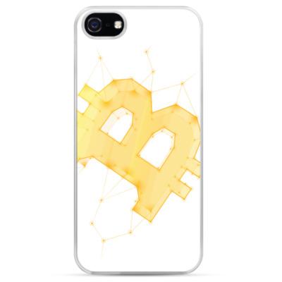 Чехол для iPhone BITCOIN Galaxy