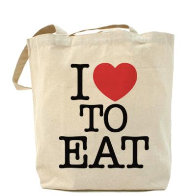 Сумка I love to eat