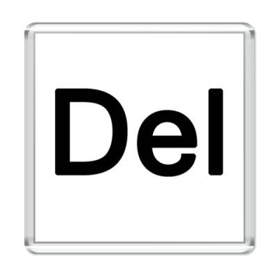 Магнит Del