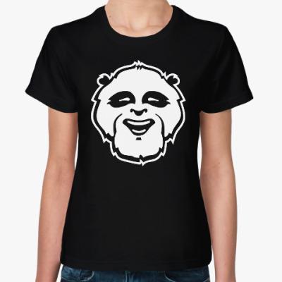 Женская футболка Веселая панда.