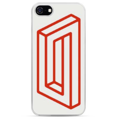 Чехол для iPhone Невозможный прямоугольник