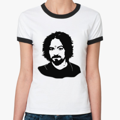 Женская футболка Ringer-T Manson