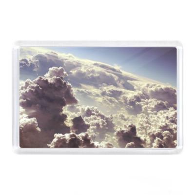 Магнит Облака на небе