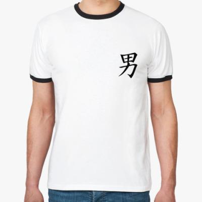 Футболка Ringer-T Feng Shui