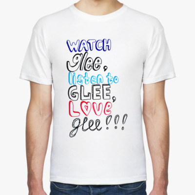 Футболка Glee