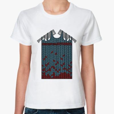 Классическая футболка Вяжем от души