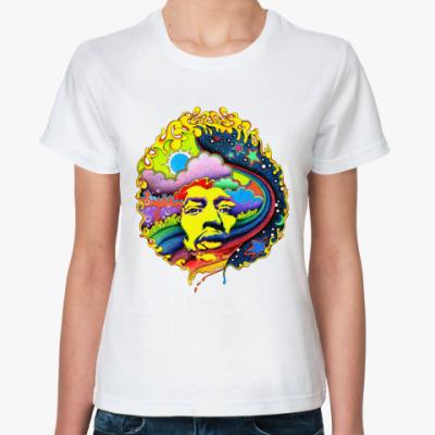 Классическая футболка Hendrix  rainbow Жен