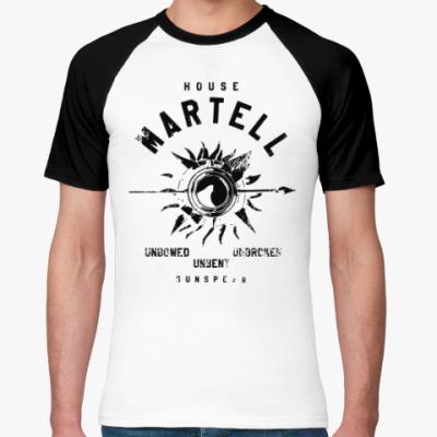 Футболка реглан House Martell. Игра престолов