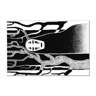 Наклейка (стикер) Миядзаки Унесённые Призраками
