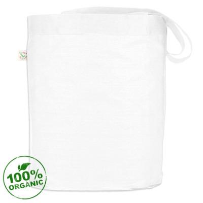 Белая сумка Enter Shikari