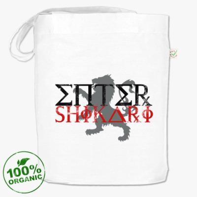 Сумка Белая сумка Enter Shikari