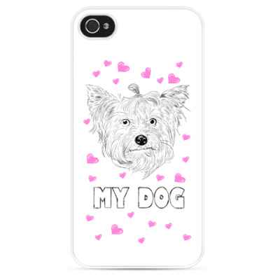 Чехол для iPhone Love my dog