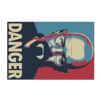 Наклейка (стикер) Walter danger
