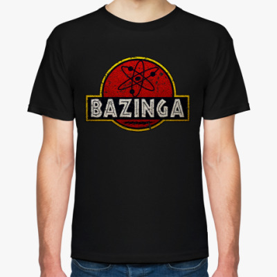 Футболка Bazinga!