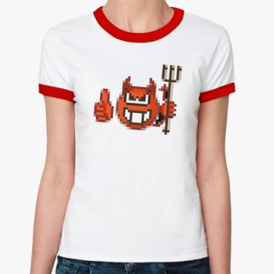 Женская футболка Ringer-T  sotona