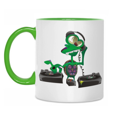 Кружка DJ Turtle