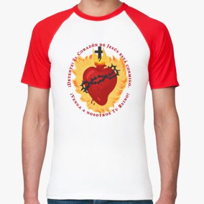 Футболка реглан Detente - Sacred Heart