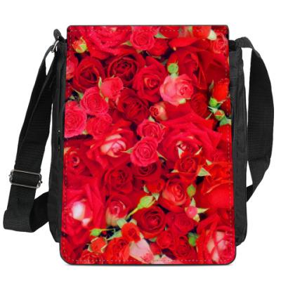 Сумка-планшет Розы