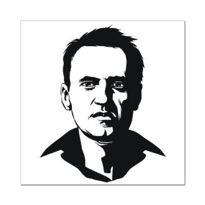 Наклейка (стикер) Навальный