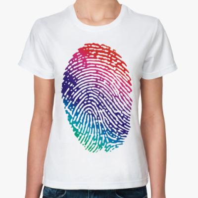 Классическая футболка Дактилоскопия