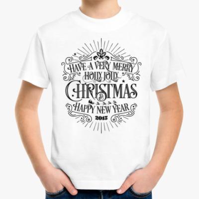 Детская футболка Новый 2015 год (овцы, козы)