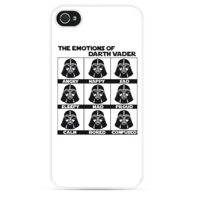 Чехол для iPhone Star Wars Darth Vader Emotions