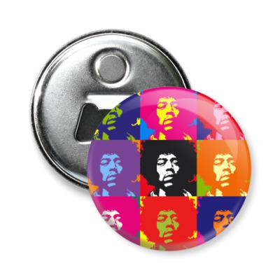 Магнит-открывашка J Hendrix -открывашка