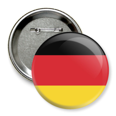 Значок 75мм Deutschland