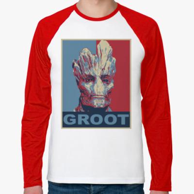 Футболка реглан с длинным рукавом Groot