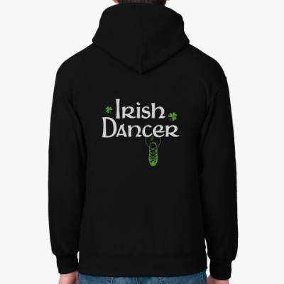 Толстовка худи 'Irish Dancer'