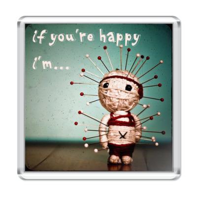 Магнит  happy