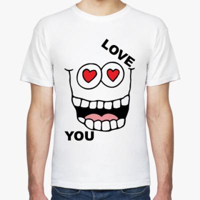 Футболка Love you