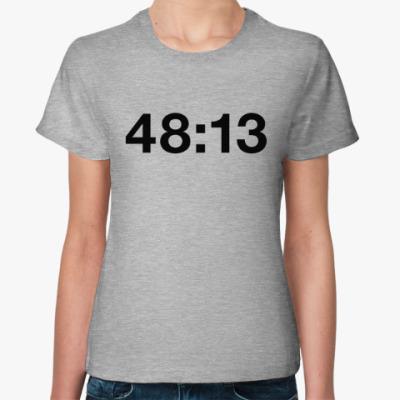 Женская футболка kasabian 48:13