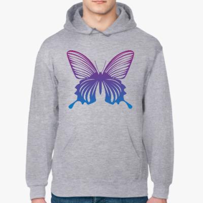 Толстовка худи Бабочка Butterfly Vintage