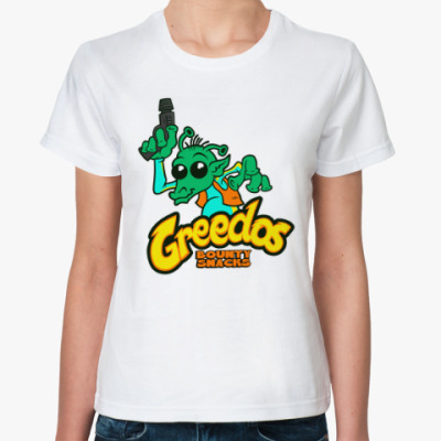 Классическая футболка Гридо (Звездные Войны)