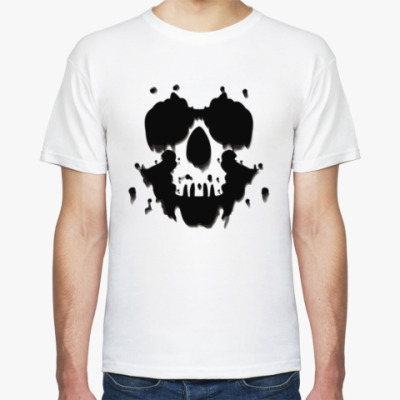 Футболка  футболка Роршах