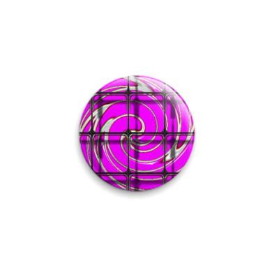 Значок 25мм круговорот