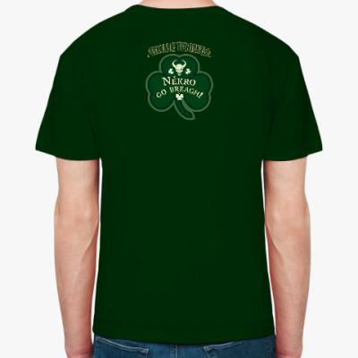 Мужская футболка Fruit of the Loom (темно-зеленая)