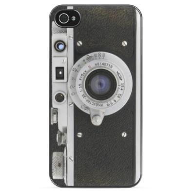 Чехол для iPhone Фотоаппарат Зоркий