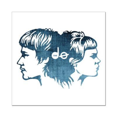 Наклейка (стикер) The Dø