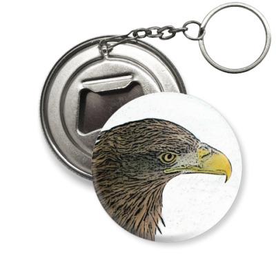 Брелок-открывашка Орел