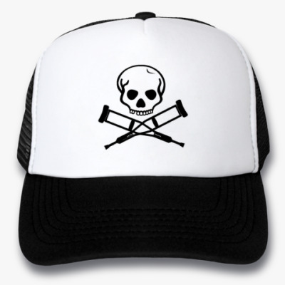 Кепка-тракер Кепка  (черная)Jackass