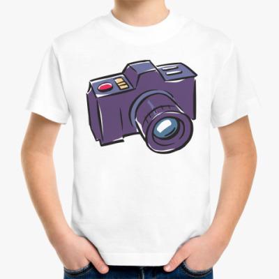 Детская футболка фотоаппарат