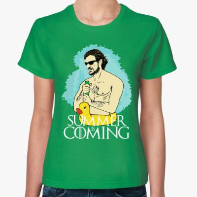 Женская футболка Лето Близко. Игра престолов
