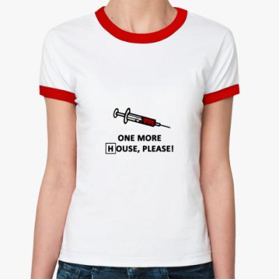 Женская футболка Ringer-T  More House